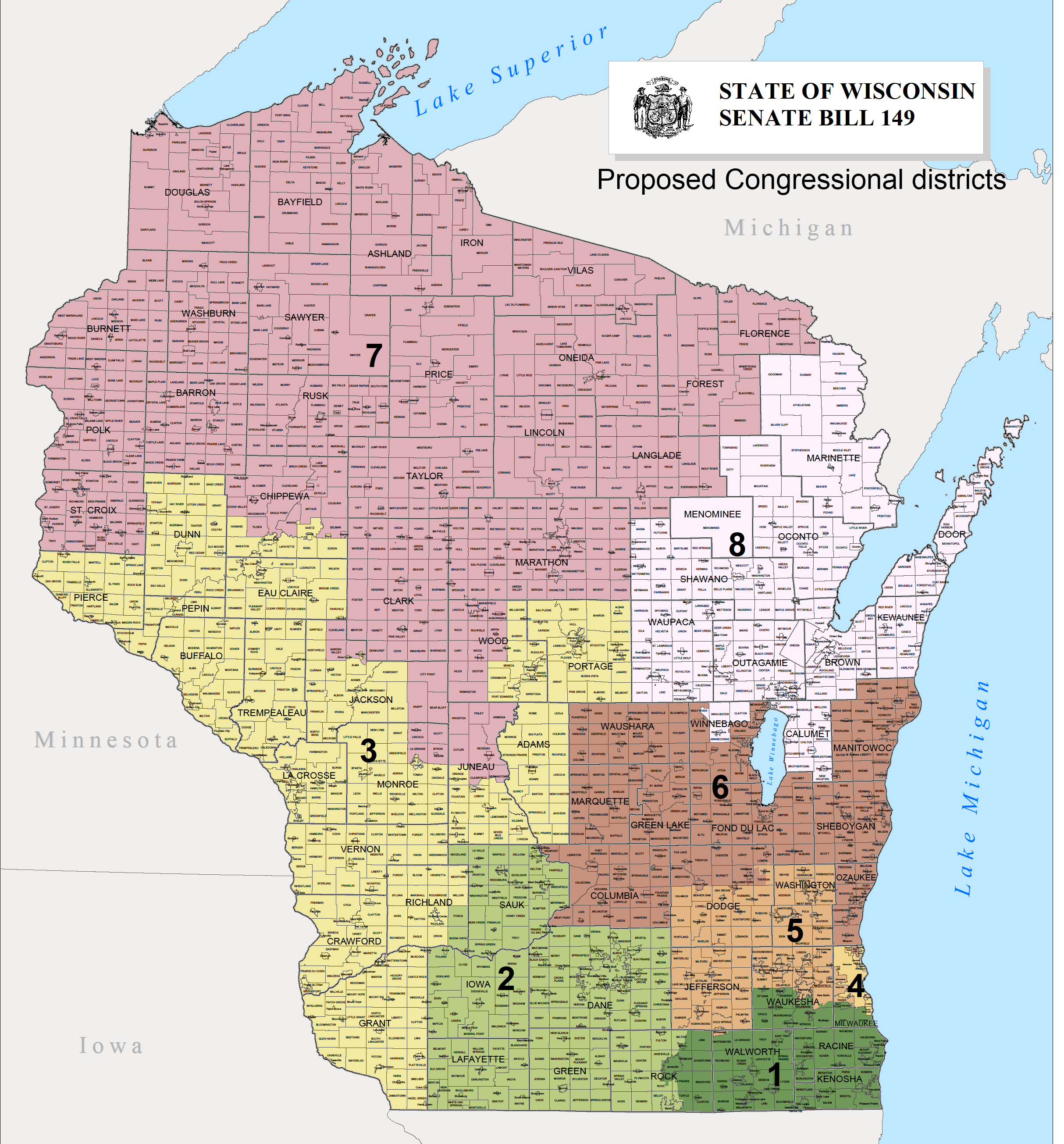 The ideal of redistricting the reality of gerrymandering - Wisconsin legislative reference bureau ...