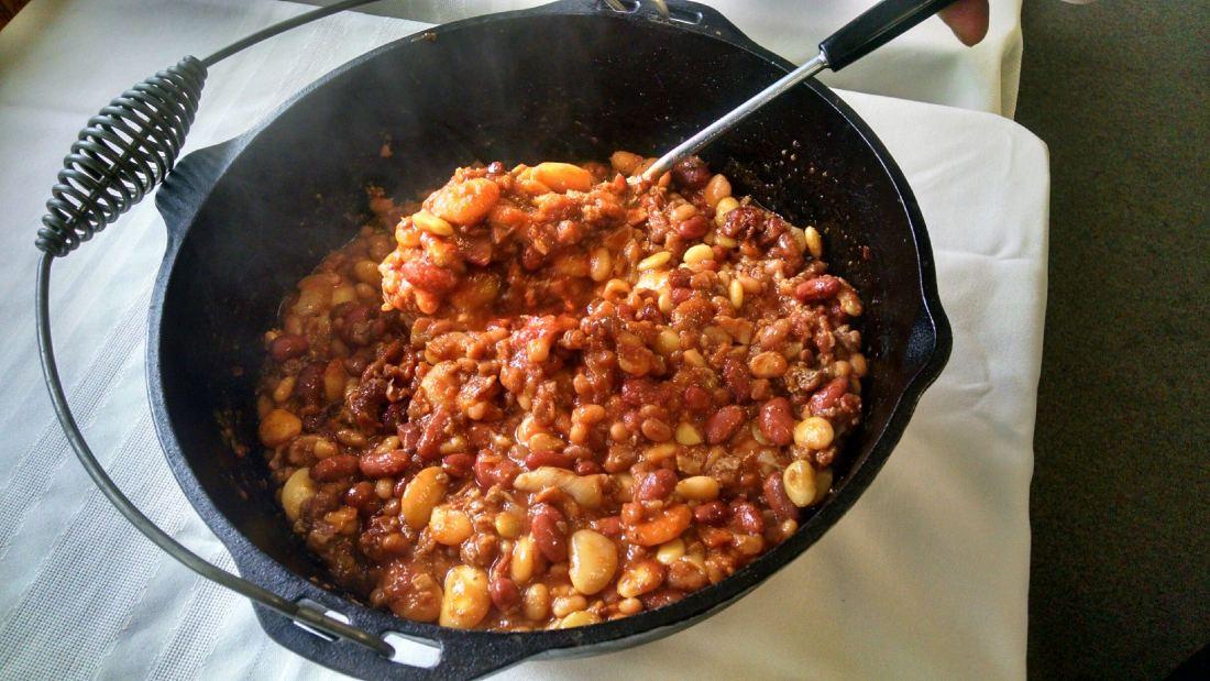 BBQ beans