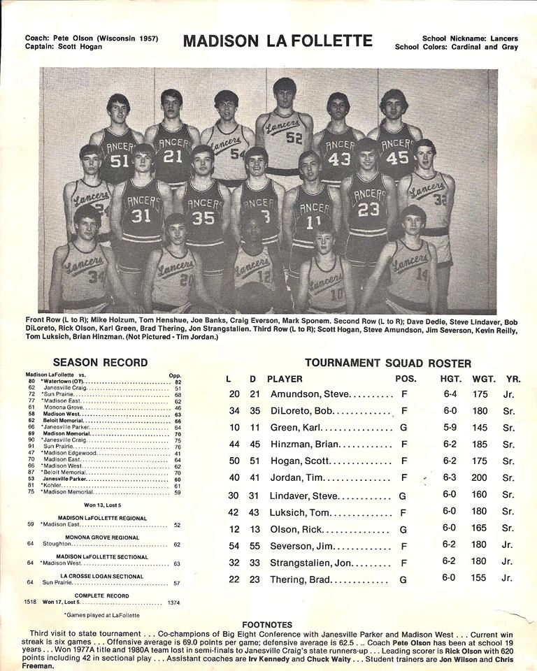 1982 La Follette state program