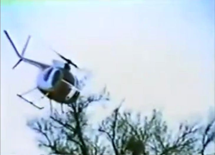 Chase helicopter