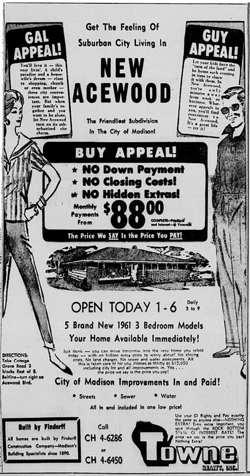 1961 New Acewood
