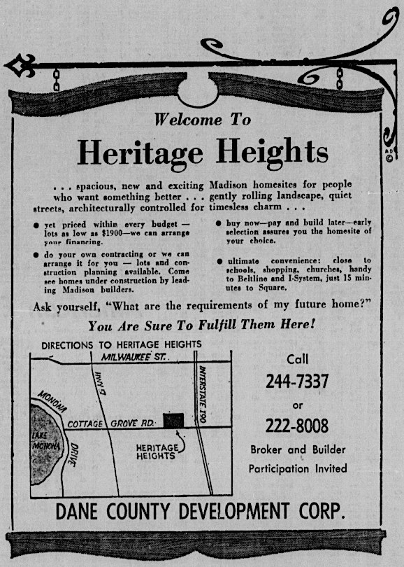 1964 Heritage Heights