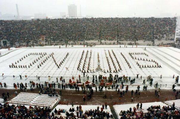 1985 On Wis snow