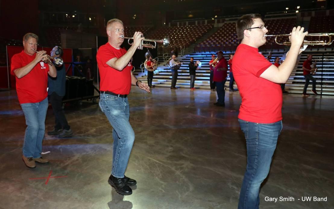 alumni band practice